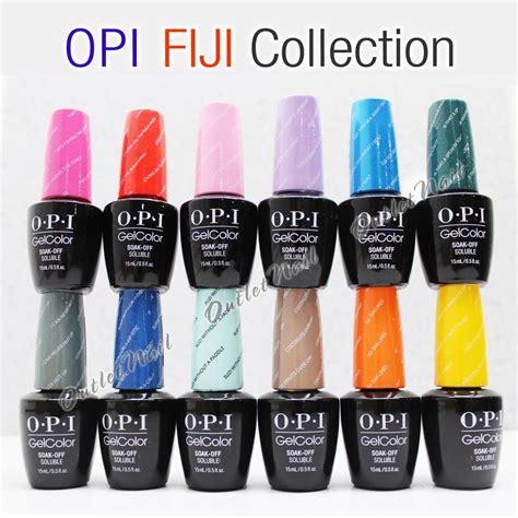 opi gel colors opi soak gelcolor fiji 2017 summer collection