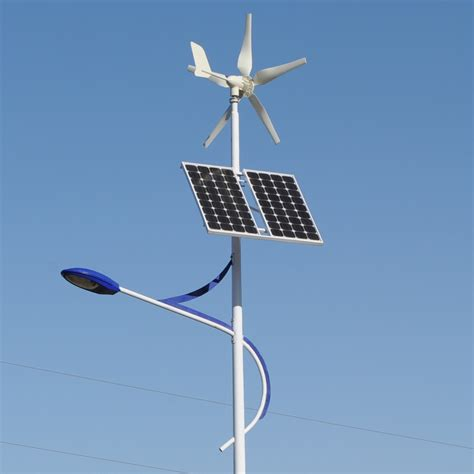 Solar Power Light Here Comes A Streetlight That Runs On Wind And Solar Energy