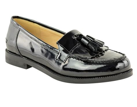 school loafers flat casual loafers borgues school office