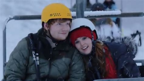 ed sheeran perfect video filmed 10 cutest moments in ed sheeran s romantic quot perfect quot music