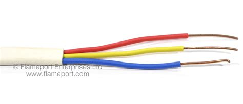 pvc insulated flat wiring cables