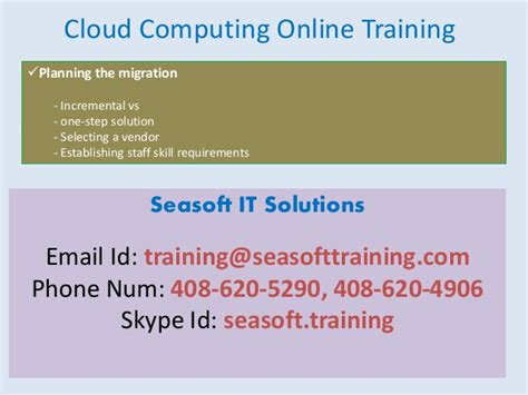 online tutorial cloud computing cloud computing online training
