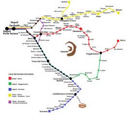 Italy Rail Map by Circumvesuviana Timetables And Rates Sitabus It