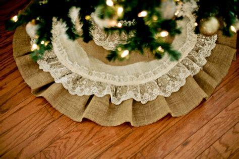 pattern burlap christmas tree skirt beautifully skirting for your festive tree