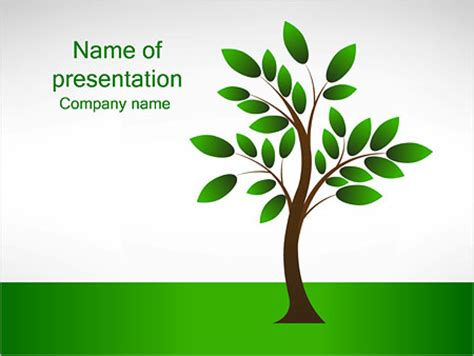 tree template for powerpoint new tree powerpoint template backgrounds id 0000002993