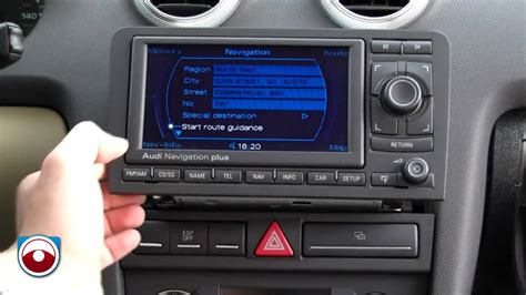 Audi Radios by 2006 2013 Audi A3 Navigation Radio Removal