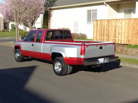 1992 chevrolet k3500 4x4 dually low miles 1993 1994 1995 1996 1997 1998 gmc for sale in