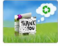 print eco friendly thank you cards resources