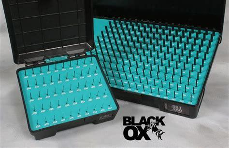 Pinset Set black ox class zz gage sets pins meyer gage
