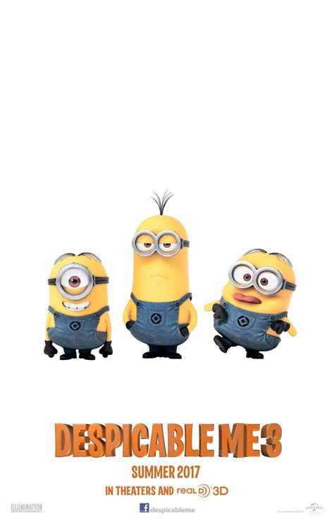 despicable me 3 despicable me 3 2017 trailer cast and india