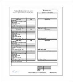 paint templates estimate sheet classic estimate sheet for contractors