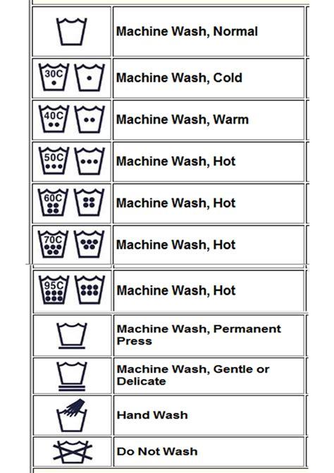 Baju Care simbol label pakaian metawede
