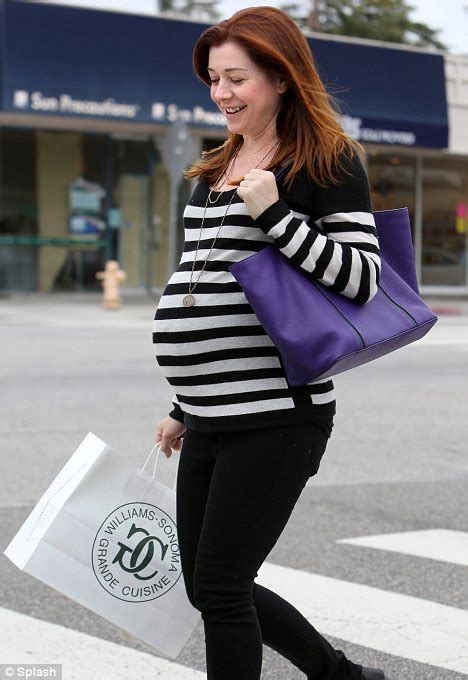 Alyson Hannigan steps out to pick out bigger maternity ... Ivanka Trump