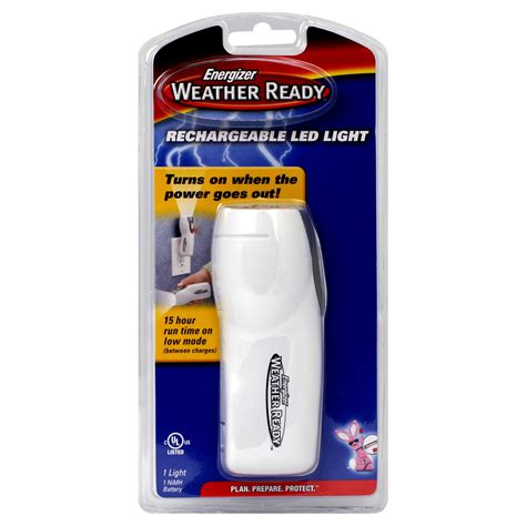 energizer rechargeable led light energizer weather ready rechargeable led light 1 flashlight
