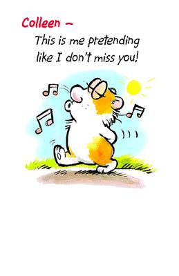 i don t miss you greeting card miss you printable card