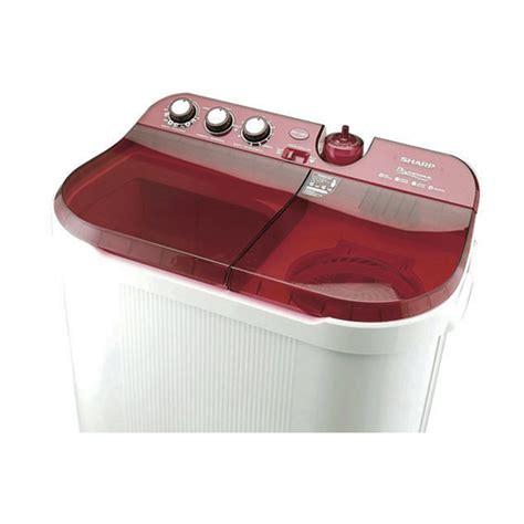 Mesin Cuci Sharp 10 Kg jual sharp mesin cuci 10 kg es t1090 pk pink wahana superstore