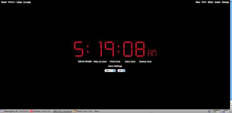 online clock 3 electronic ways to get yourself out of bed tech guide