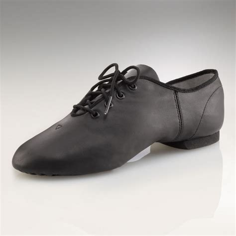 capezio e series jazz oxford black