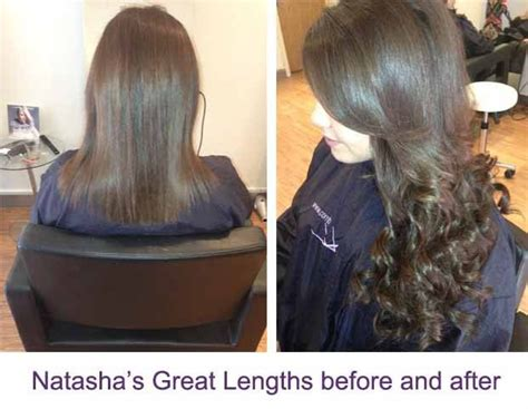before and after great lengths 23 best great lengths hair extensions images on