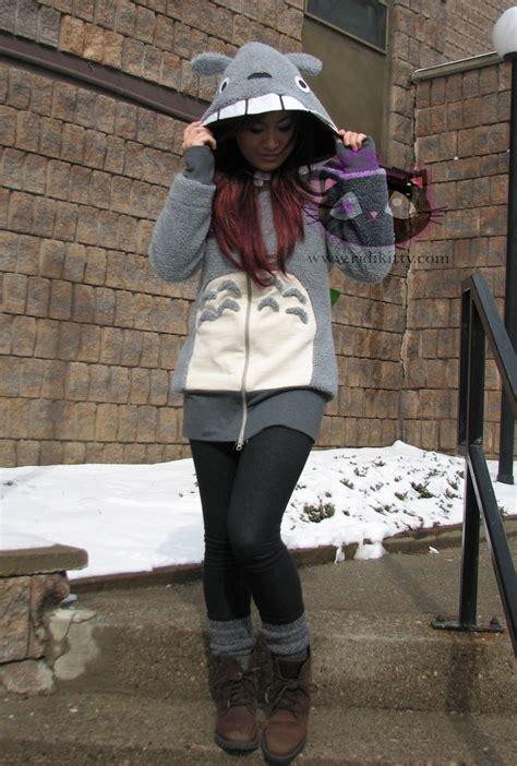 Vest Anime Casual Black Ct Vh 01 totoro hoodie jacket 150 00 via etsy products i totoro