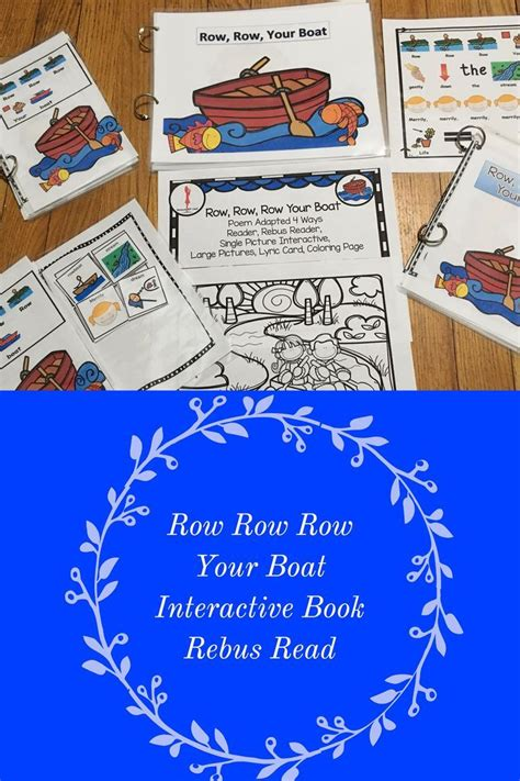 row row your boat lyrics with pictures 14 best nursery rhymes images on pinterest little pigs