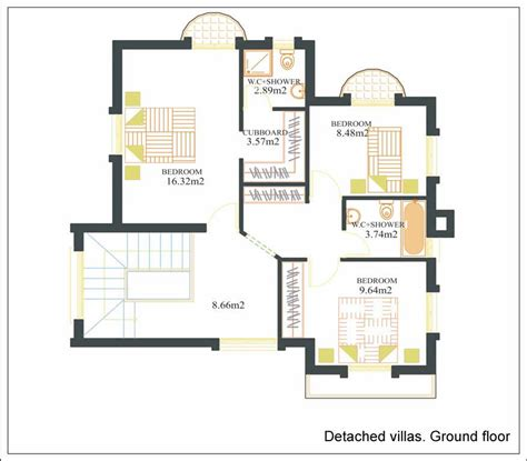 Online Floor Plan Free by Villa Plans