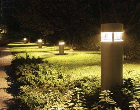 Landscape Bollard Lighting Heavy Duty Bollards