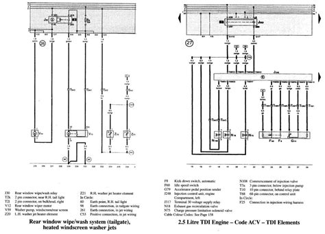 electrical wiring diagram vw t4 wiring free