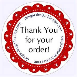 stickers for businesses thank you stickers business labels customer appreciation