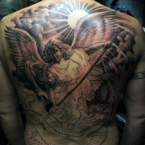 archangel tattoo designs for men 75 remarkable tattoos for ink ideas with wings
