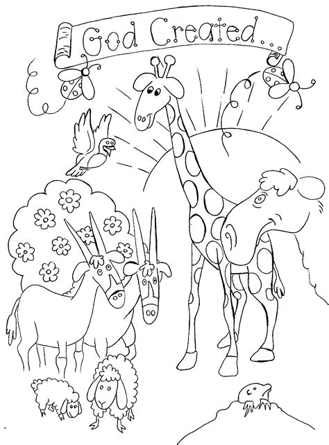 coloring pages for bible stories creation coloring pages on creation bible