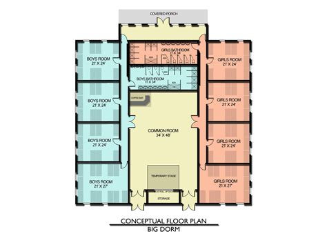 Guest Cabin Floor Plans the plans are in place camp akiva christian camp