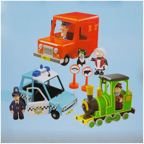 Kids Train Bed B Amp M Postman Pat Friction Action 3 Vehicle Playset 271613