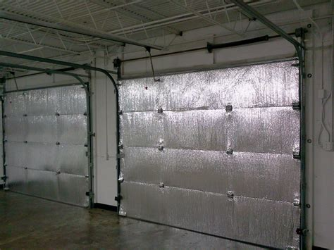 how to insulate a garage door make your garage energy efficient easy install of radiant