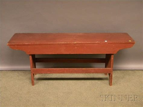 antique bucket bench red painted wooden bucket bench furniture antique to modern pint