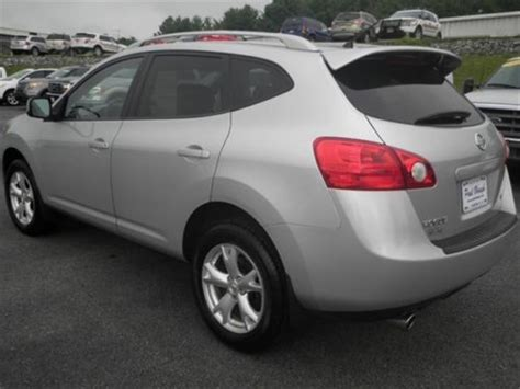silver nissan rogue 2009 purchase used pre owned clean 2009 nissan rogue sl sunroof