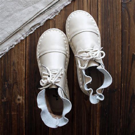 Xiuteng New 2017 Retro Handmade - aliexpress buy new 2017 genuine leather shoes