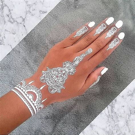 henna tattoo hand white 22 awesome henna white makedes
