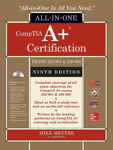 mike meyers comptia security certification guide second edition sy0 501 books comptia a certification all in one guide exams 220