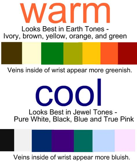 color for your skin tone summer 30 day sweater30 day i m cool toned since my veins looks more bluish