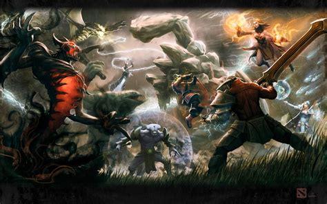 Dota 2 Heroes wallpaper404