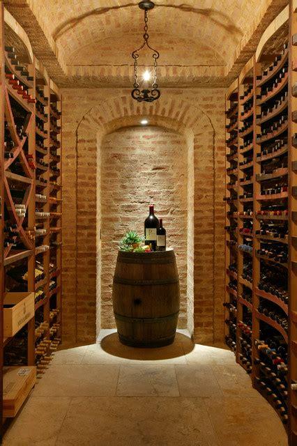 Ideal Homes Floor Plans wine cellars in stone mediterranean wine cellar new