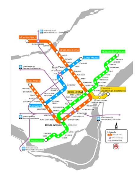 montreal metro map montreal metro map image search results