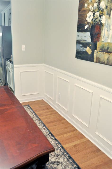 How To Do Wainscoting Boxes Not So Newlywed Mcgees Wainscoting Reveal