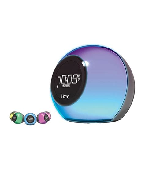 ihome speaker color changing ihome ibt29 bluetooth colour changing speaker with usb