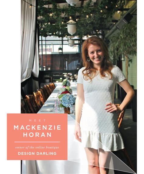 design darling instagram mackenzie horan of design darling the fox and she