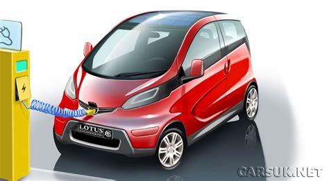 Lotus Electric City Car Revealed Electric Lotus