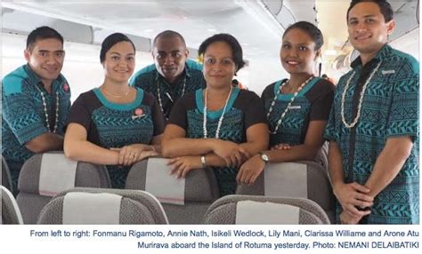 Fiji Airways Cabin Crew by Archived News January 2016