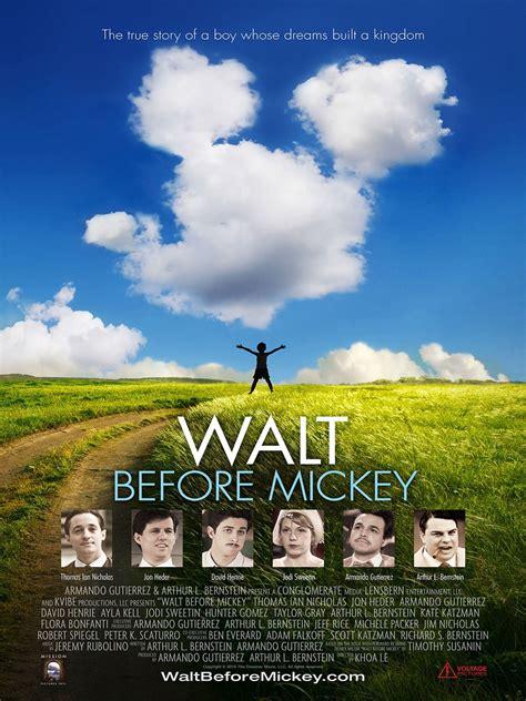 film walt disney elenco completo walt before mickey filme 2014 adorocinema