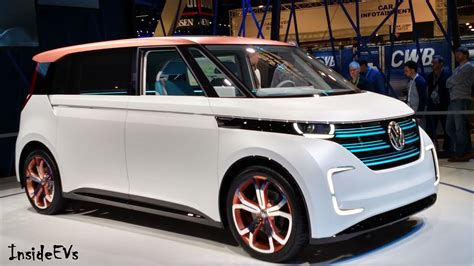 volkswagen electric concept volkswagen budd e at the 2016 ces 600km range anyone